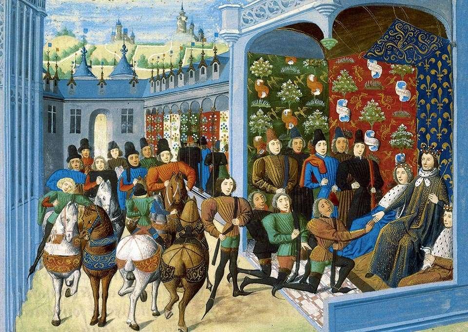 Vasallaje en la Edad Media